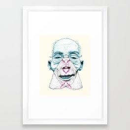 Mothbums Portrait N°9 Framed Art Print
