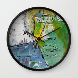 Everything is OK Wall Clock