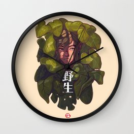 Of The Wild Wall Clock