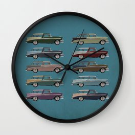Five Nomads Wall Clock