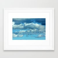 german Framed Art Prints featuring German clouds by LoRo  Art & Pictures