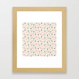 Forest love Framed Art Print
