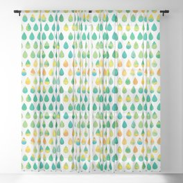 Monsoon Rain Sheer Curtain