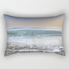 """Looking at the waves III"" Sea dreams Rectangular Pillow"