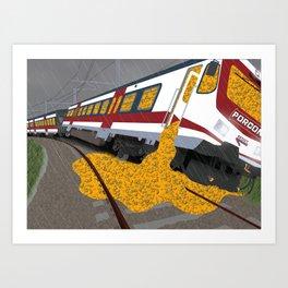 North Line Art Print