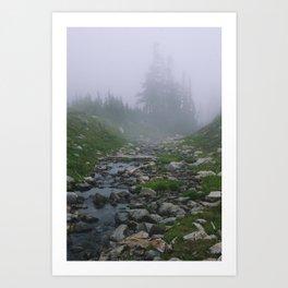 Whitehorse Creek Art Print