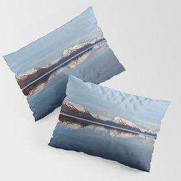 Mountains on Karluk Lake Photography Print Pillow Sham