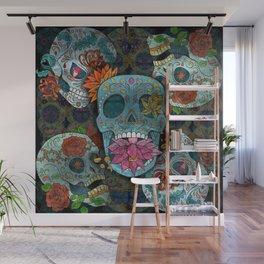 Sugar Skulls Art Wall Mural