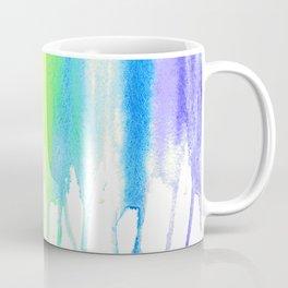 Rainbow Watercolor Drip Coffee Mug