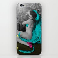burlesque iPhone & iPod Skins featuring Burlesque by POP Prints by FMcLaws