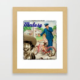 LOOK OUT, SWEET CHILD OR ALFONSO BEDOYA IN THE BURBS... Framed Art Print