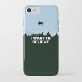 i want to believe. iPhone Case
