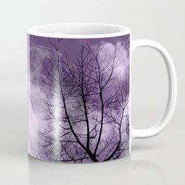 Purple Night  - JUSTART © Coffee Mug