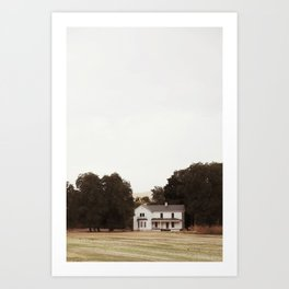 Dixie House Art Print