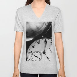Keeps On Ticking Unisex V-Neck