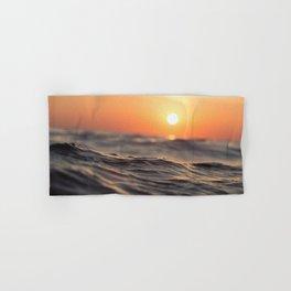 Sunset Wave Hand & Bath Towel
