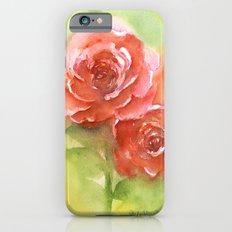 Floral study iPhone 6s Slim Case