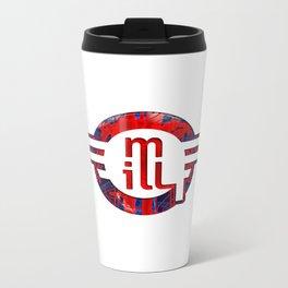 metro illusions - Anatomy Metal Travel Mug