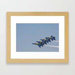 Blue Angels Framed Art Print