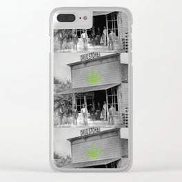 Drug Store #2 Clear iPhone Case