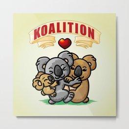 Koalition Metal Print