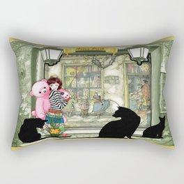 Toyshop in old Amsterdam Rectangular Pillow