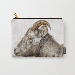 Bighorn Sheep in Jasper, Alberta Carry-All Pouch