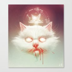 The Hell Kitty Canvas Print