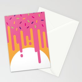 DonutWorry Stationery Cards