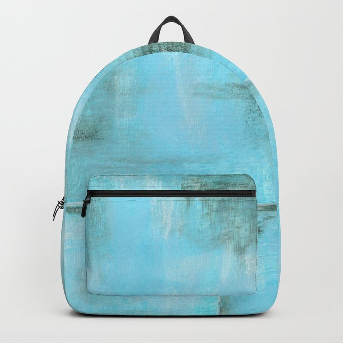 Frost, Abstract Art Painting Backpack