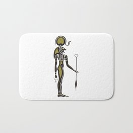 Bastet - Goddess of ancient Egypt Bath Mat