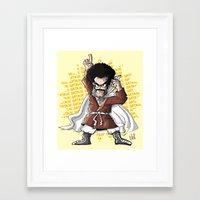 satan Framed Art Prints featuring Satan! by neicosta