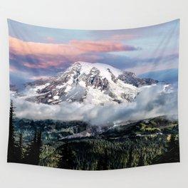 Mt. Rainier Wall Tapestry
