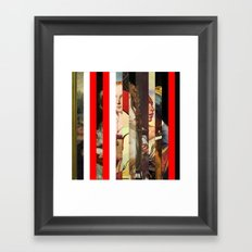 Stars in stripes 6+ Framed Art Print