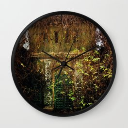 Nature finds the way inside... Wall Clock