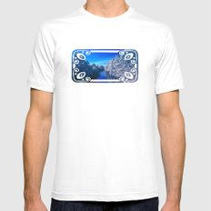 Rivanna River Mens Fitted Tee White MEDIUM
