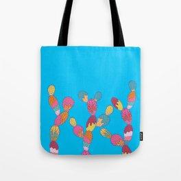Summer Succulent Tote Bag