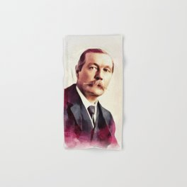 Sir Arthur Conan Doyle, Literary Legend Hand & Bath Towel