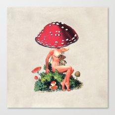 Shroom Girl Canvas Print
