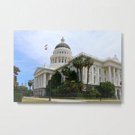 California State Capitol Metal Print