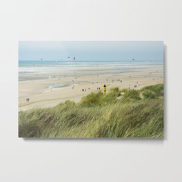 Moment of the beach Metal Print