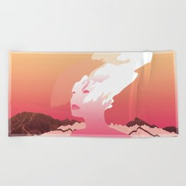 SUCK IT AND SEE Beach Towel
