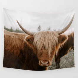 Highland Cattle 1987 Wall Tapestry