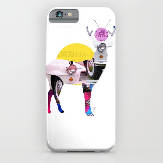 Deer Old Times iPhone & iPod Case