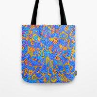 karen Tote Bags featuring Karen by Leah Moloney