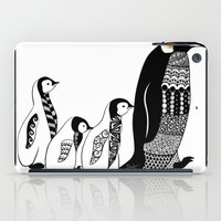 penguins iPad Cases featuring Penguins by Sophie H.