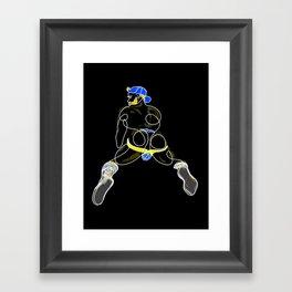 lonniedraws x matt salmon #2 Framed Art Print