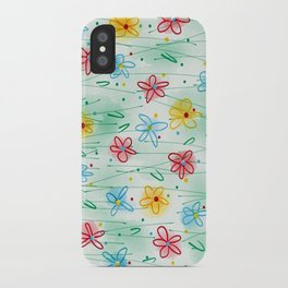 Spring is right here iPhone Case