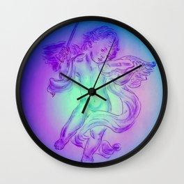 Heavenly apparition  Angel Music Wall Clock
