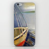 skyline iPhone & iPod Skins featuring Skyline by Vilnis Klints
